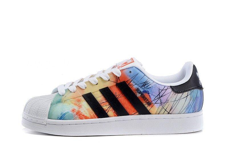 new concept 411b1 2d056 Adidas Originals Superstar II Mens Shell head Skateboard shoes  Orange Yellow Black B35851