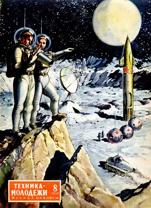 Dibujos y diseños vintage Art - Soviet Sci-Fi Pinterest - diseos vintage