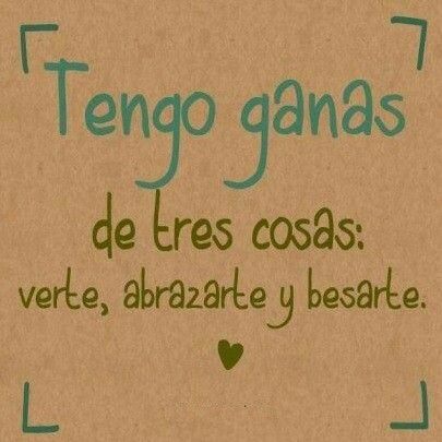 Verte Abrazarte Besarte Frases Bonitas Frases De Enamorados Frases Romanticas