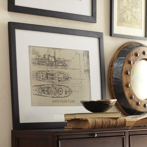 Starboard Framed Print I #birchlane