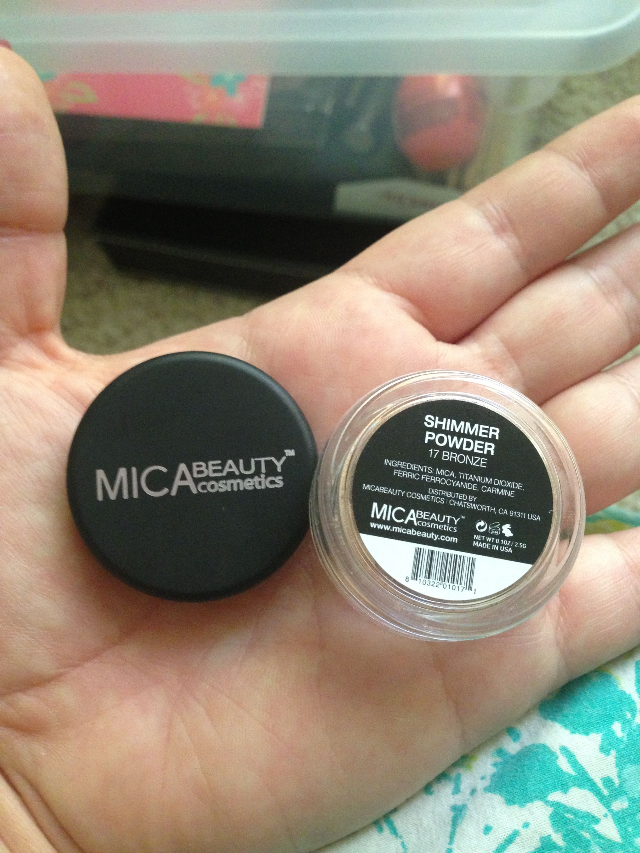 Mica Beauty Shimmer Powder in 17 Bronze 8 shipped