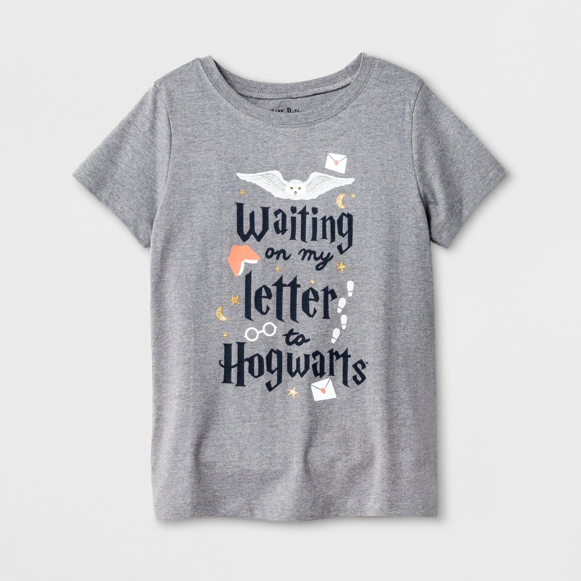 Petitegirls Harry Potter Hogwarts Notes Graphic Short Sleeve T Shirt Athletic Heather M Girl S Size Medium Gray Harry Potter Outfits Harry Potter Girl Harry Potter Shirts