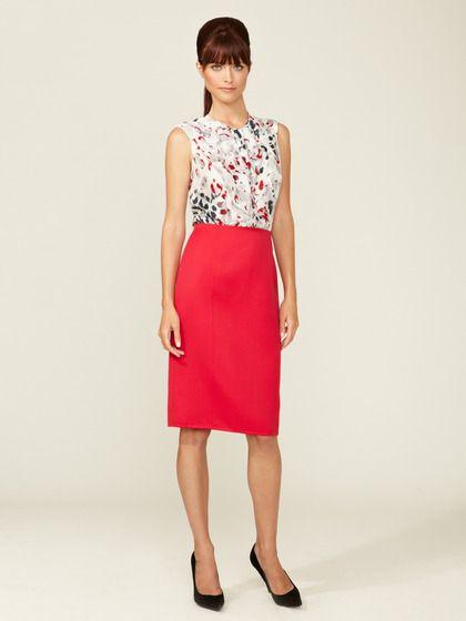 3a0d76706b Carolina Herrera Wool Pencil Skirt | Classic Work Fashion | Skirts ...