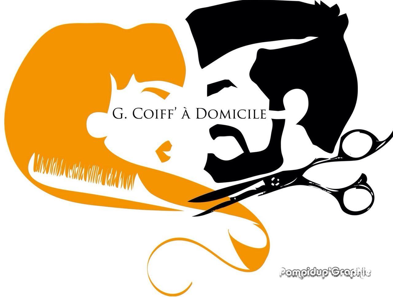 Logo Pour Salon De Coiffure Mixte Logo Coiffeur Illustrator Techniques De Coupe De Cheveux Coiffure Salon De Coiffure