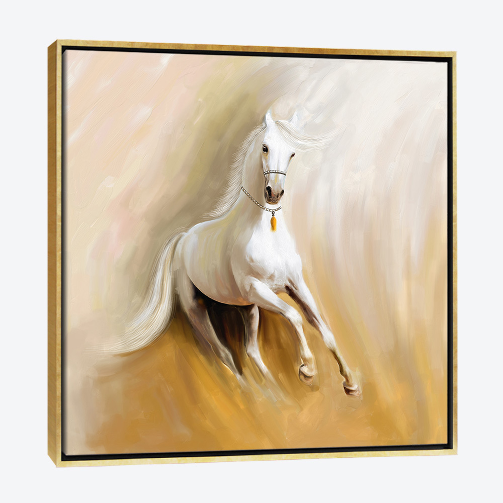 Bari Gallery جمال الخيل لوحة كانفس لوحة فنية جدارية للمنزل Art Painting Horses