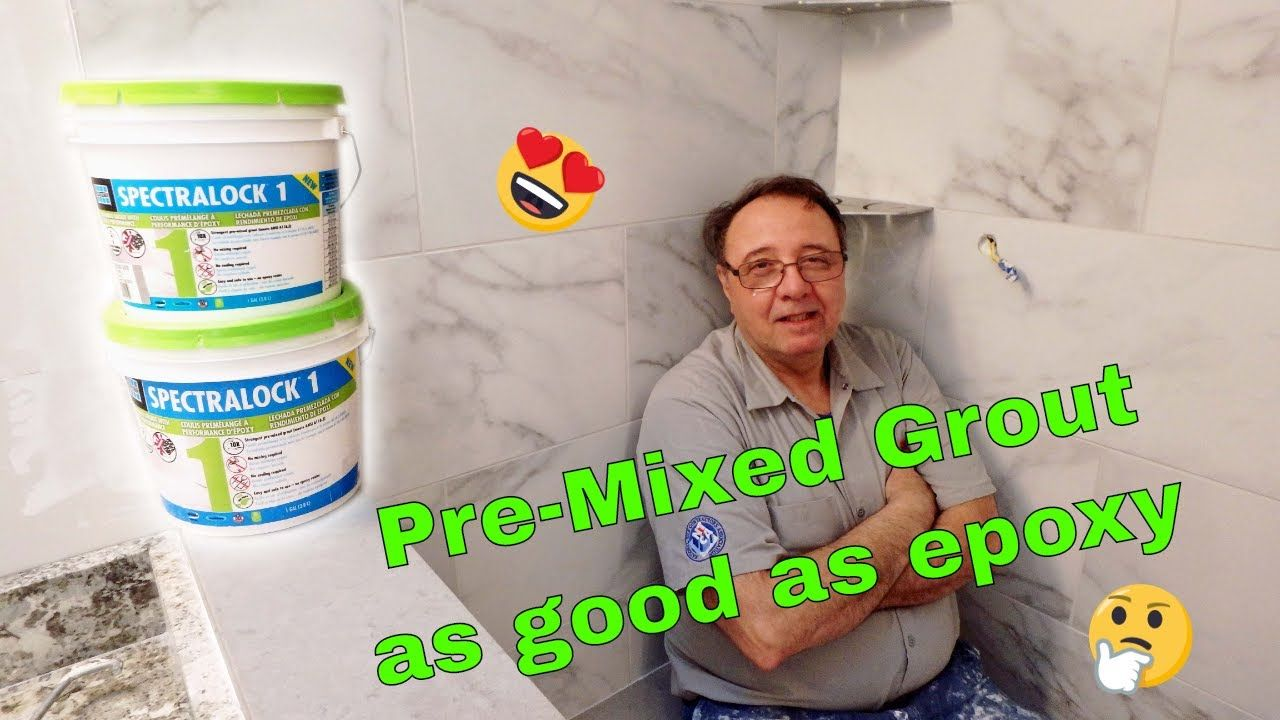 SPECTRALOCK 1 PreMixed grout, Easy and simple to use