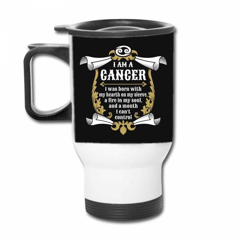 I Am A Cancer Travel Mug