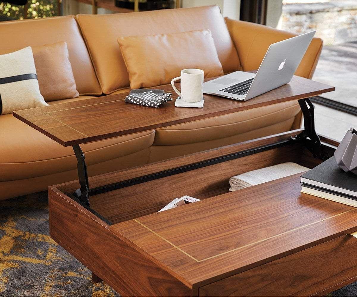 Kallan Lift Top Storage Coffee Table Wood Coffee Table Design Coffee Table Wood Lift Coffee Table [ 1000 x 1200 Pixel ]