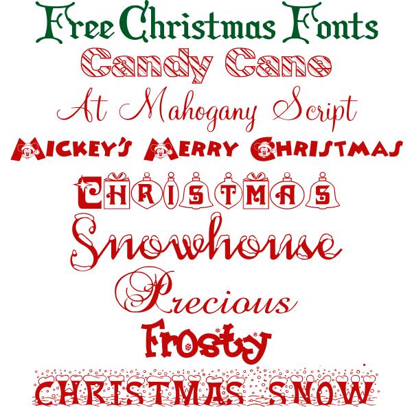 Free Christmas Fonts.Free Christmas Fonts Merry Christmas Christmas Fonts