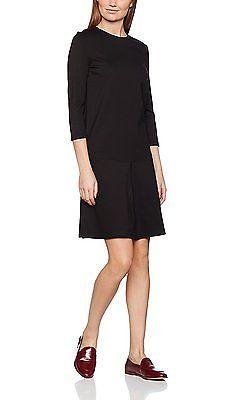 38, Black (black 2999), Tom Tailor Women's Feminine Punto Dress NEW