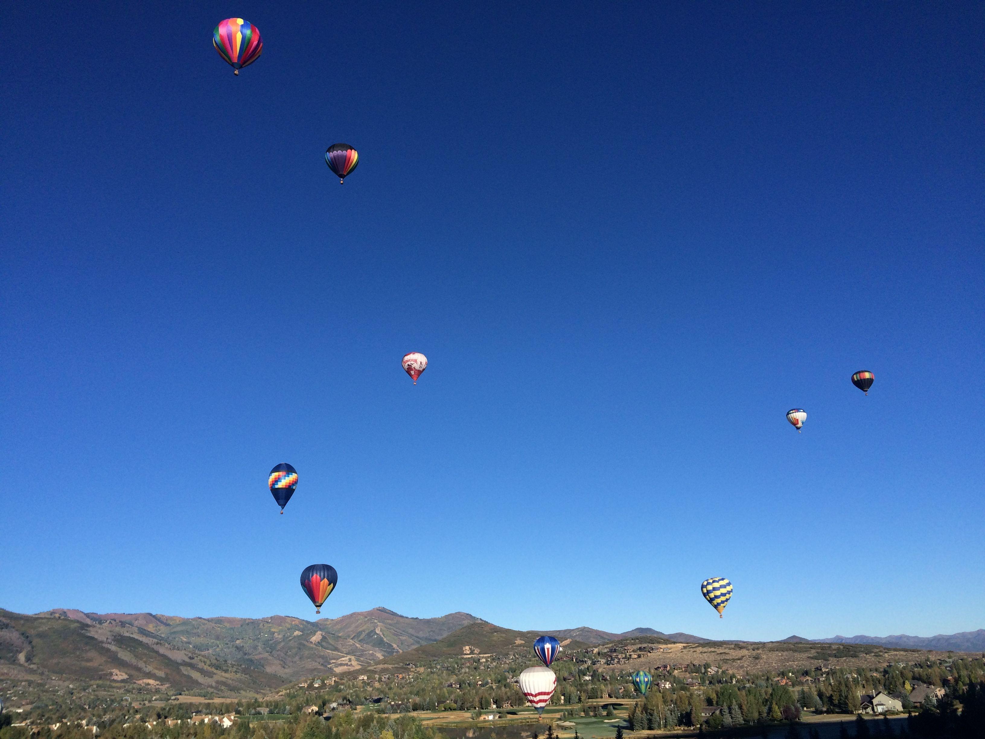 Autumn Aloft Hot Air Balloon Festival Hot air balloon