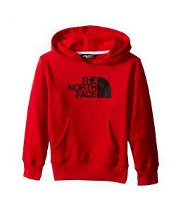 The North Face Kids Logowear Pullover Hoodie (Little Kids/Big Kids) (TNF Red) Boy's Sweatshirt