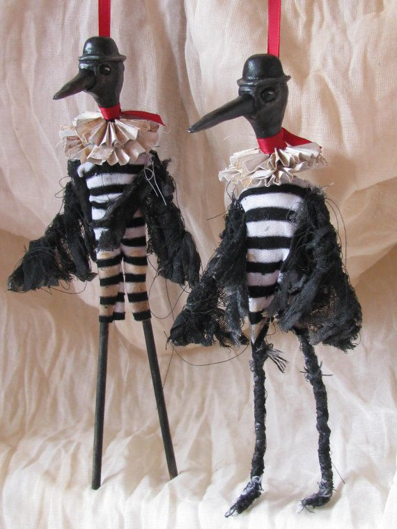 The Boom and Bust Brothers art dolls by uncannycuriosities @Etsy!