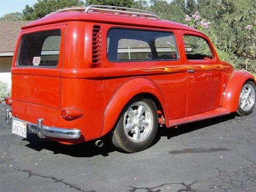Volkswagen bus and beetle combined
