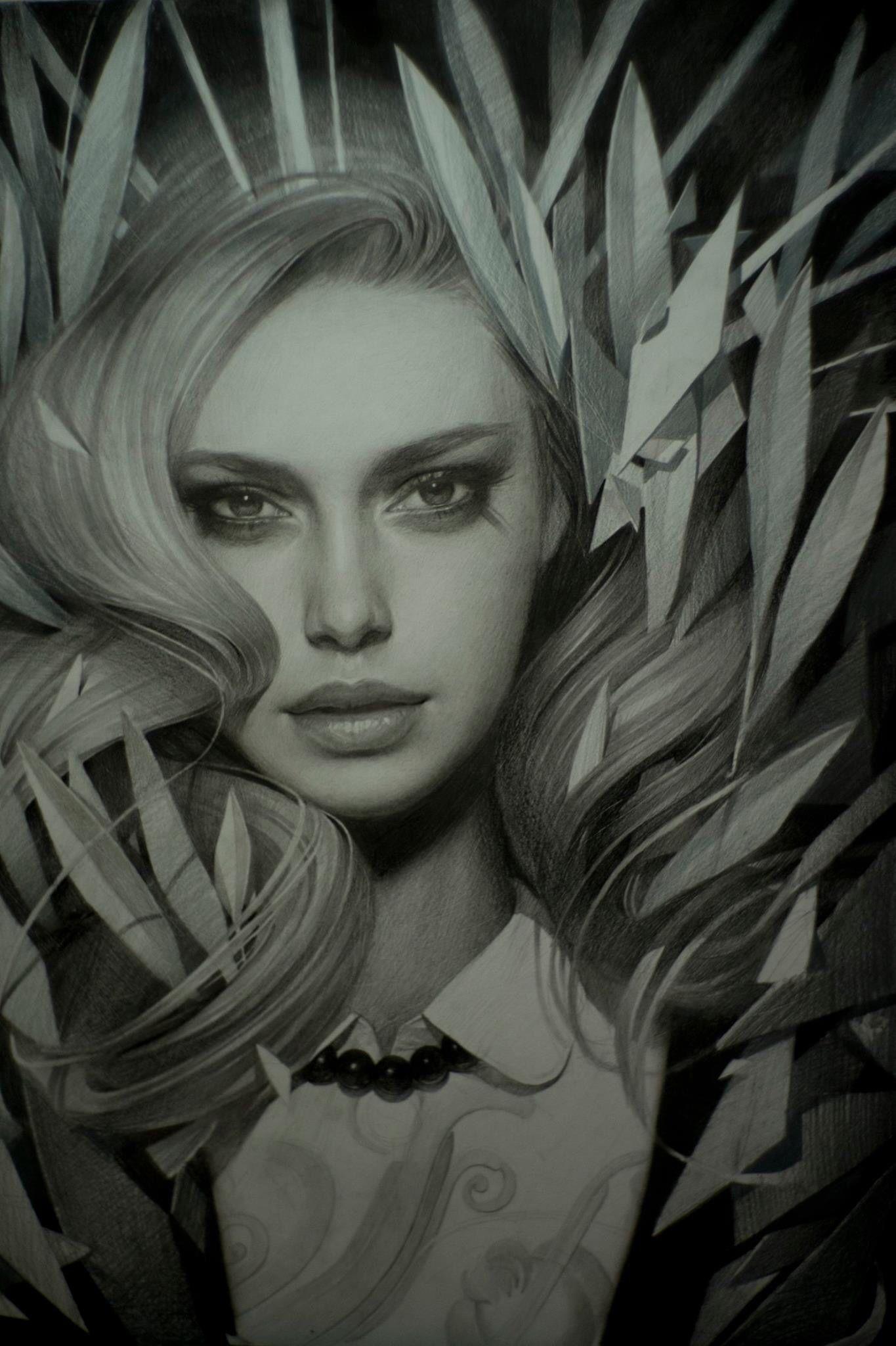Art by Alex Sorsa | Ink | Pinterest | Rostros, Anatomía artística y ...