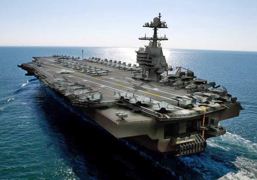 Interesting Pictures Gifs Random Videos Aircraft Carrier Ford Aircraft Carrier Navy Carriers