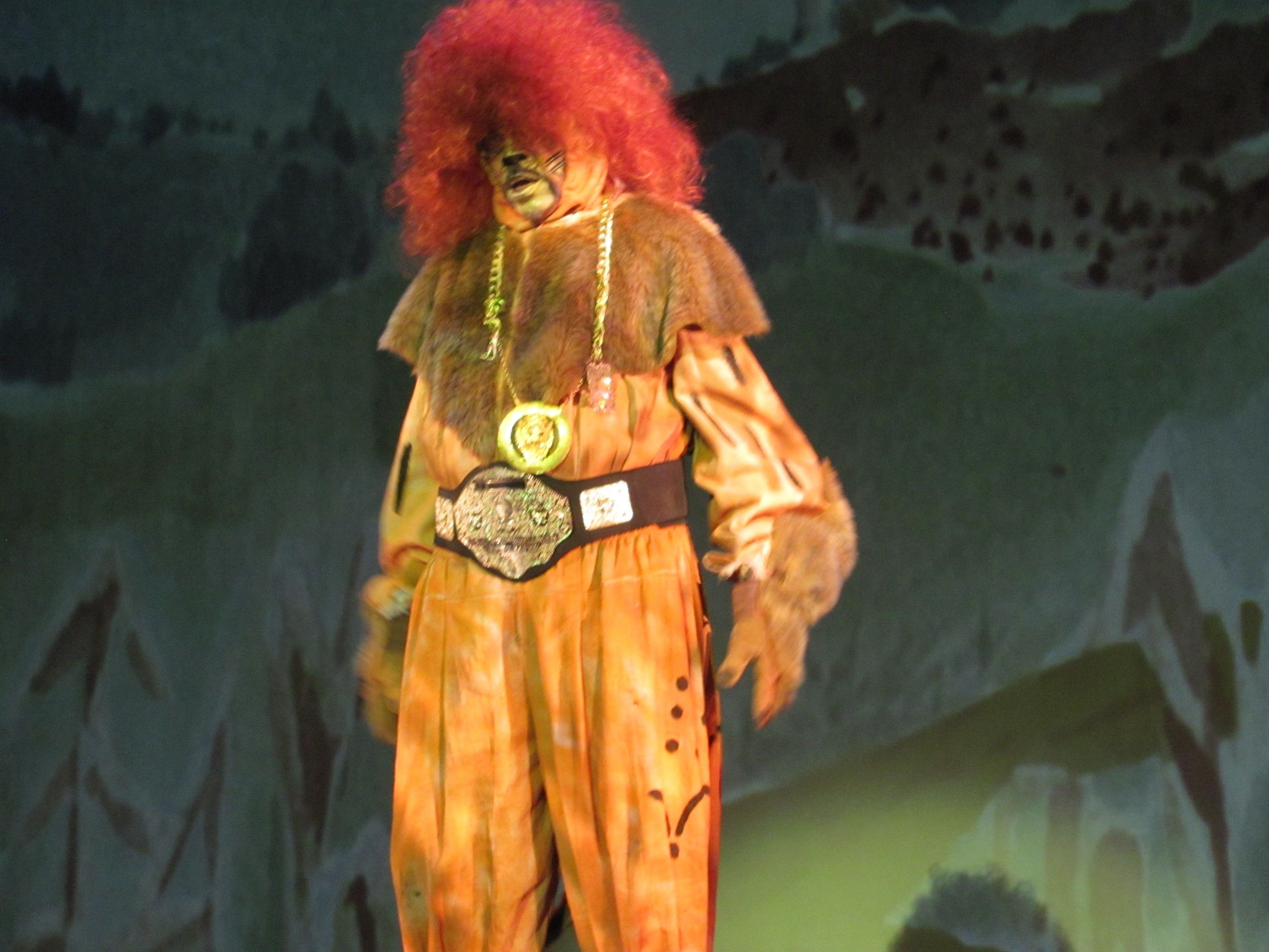 the wiz the lion is the king of the jungle he knew how to work it