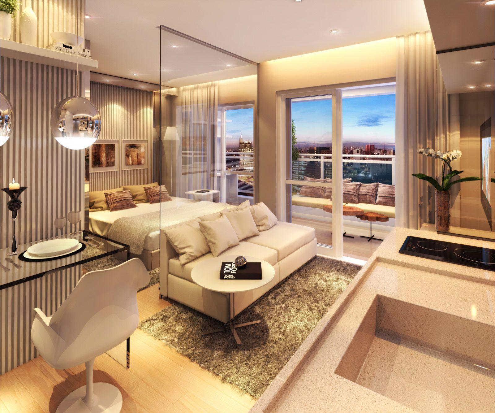 Imagem 23 hoteis pinterest apartamentos for Remodelacion apartamentos pequenos