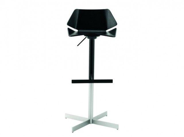 tabouret de bar noir design | tabourets / chaises de bar
