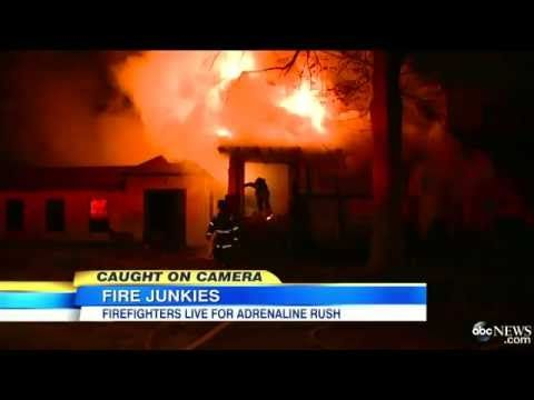 Detroit Area Firefighters' Adrenaline Rush