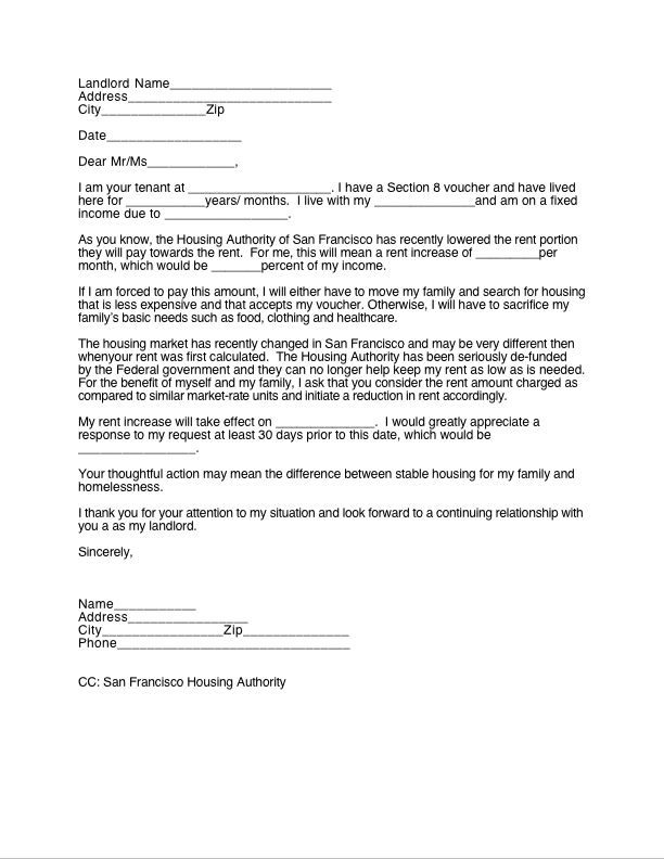 Printable Sample 30 Day Notice To Landlord Form | Real Estate
