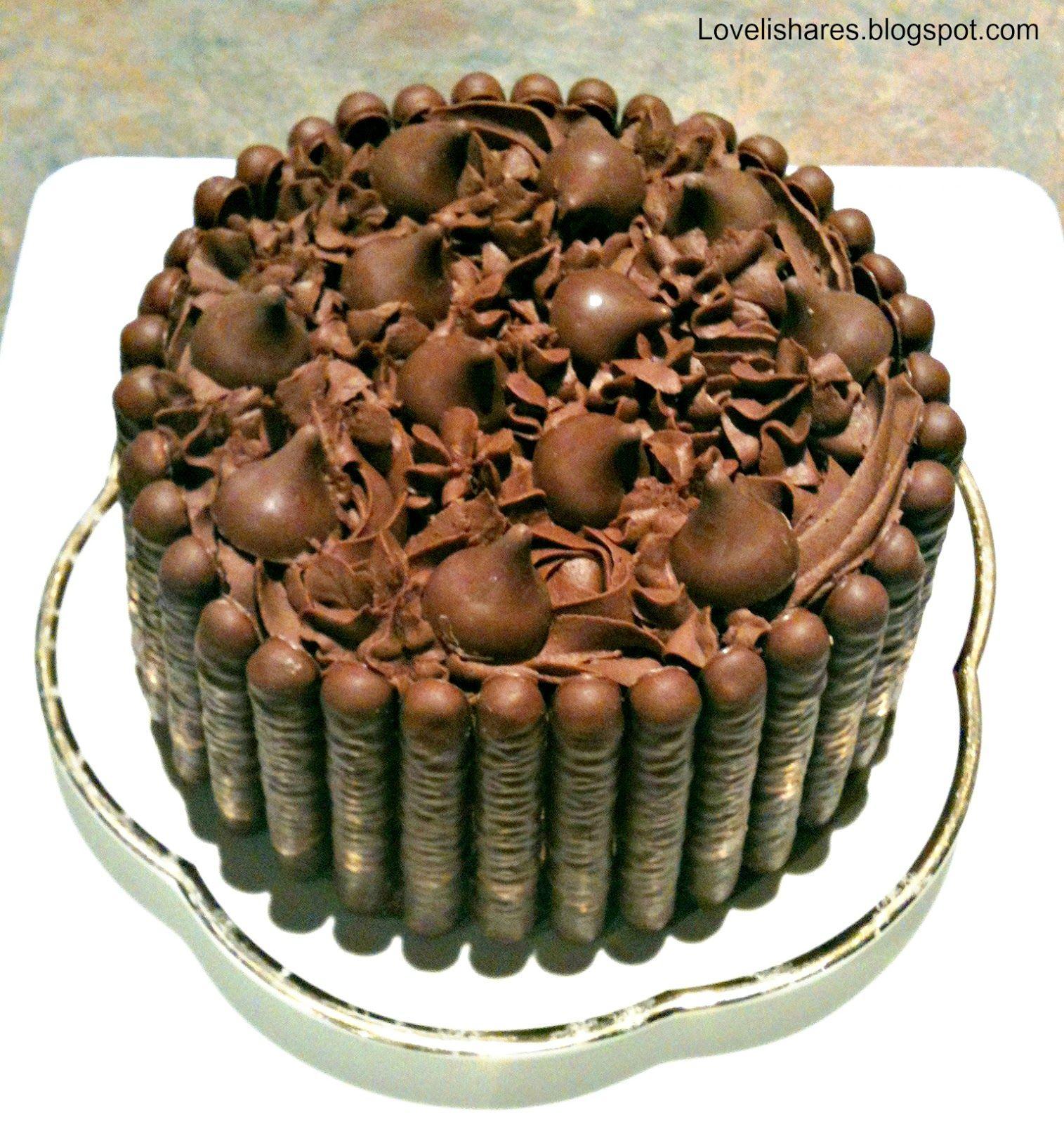 chocolate hershey kisses cake use chocolate finger