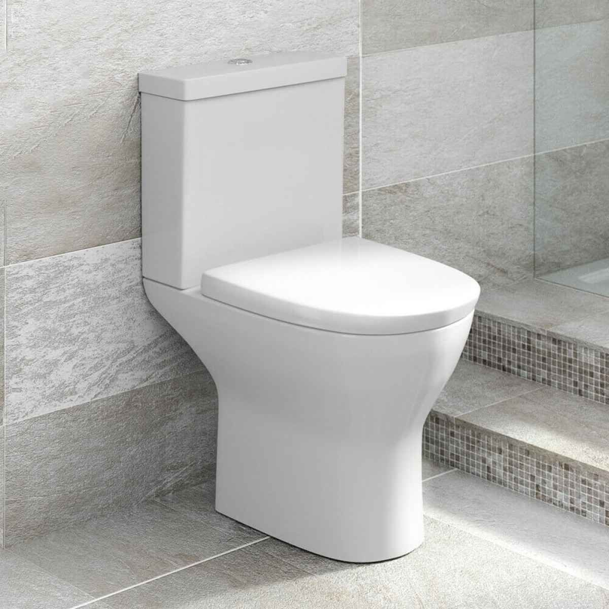 Pleasing Harbour Identity Short Projection Toilet Soft Close Seat Short Links Chair Design For Home Short Linksinfo
