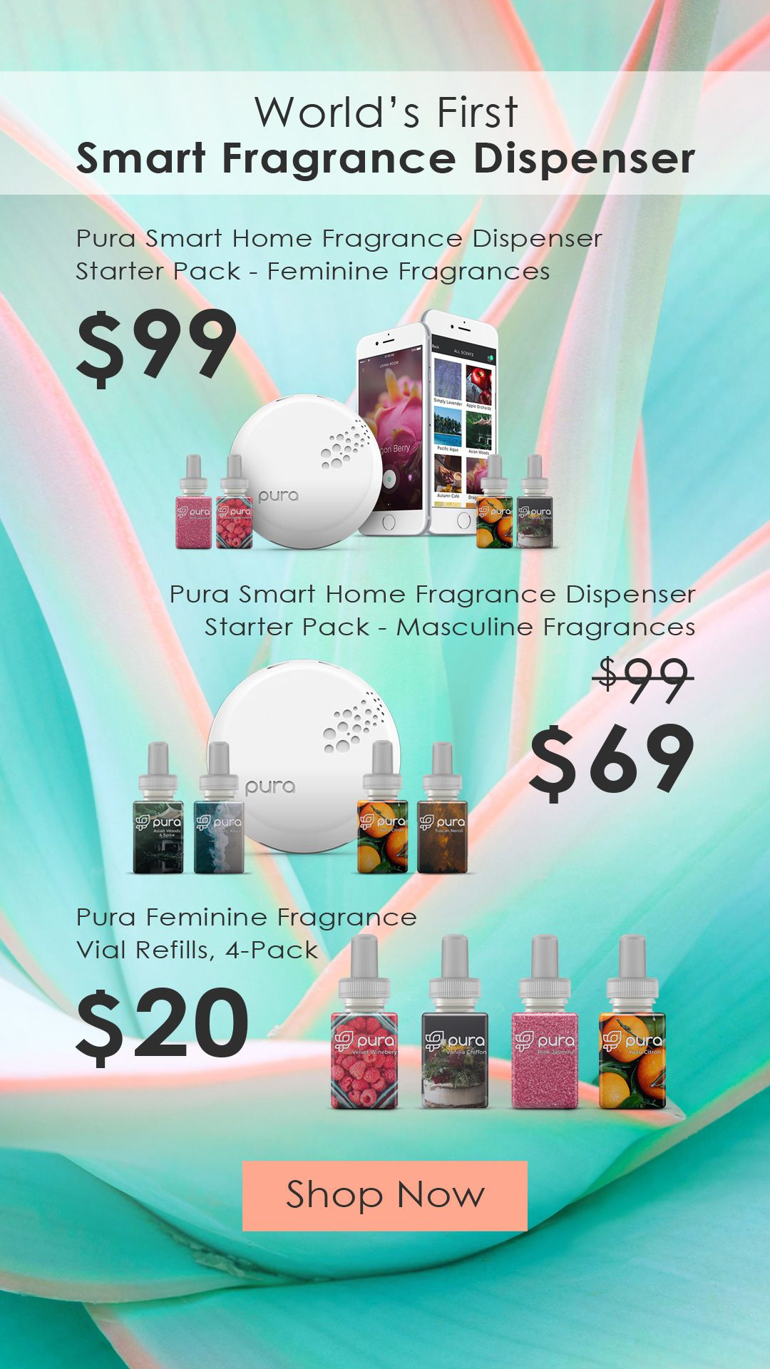 Customize Your Home Fragrances Right From Your Phone