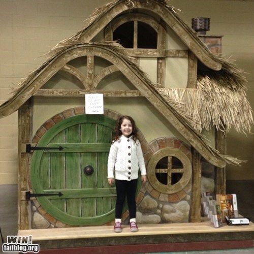 A Playhouse Worthy Of The Shire In 2019 One Board To