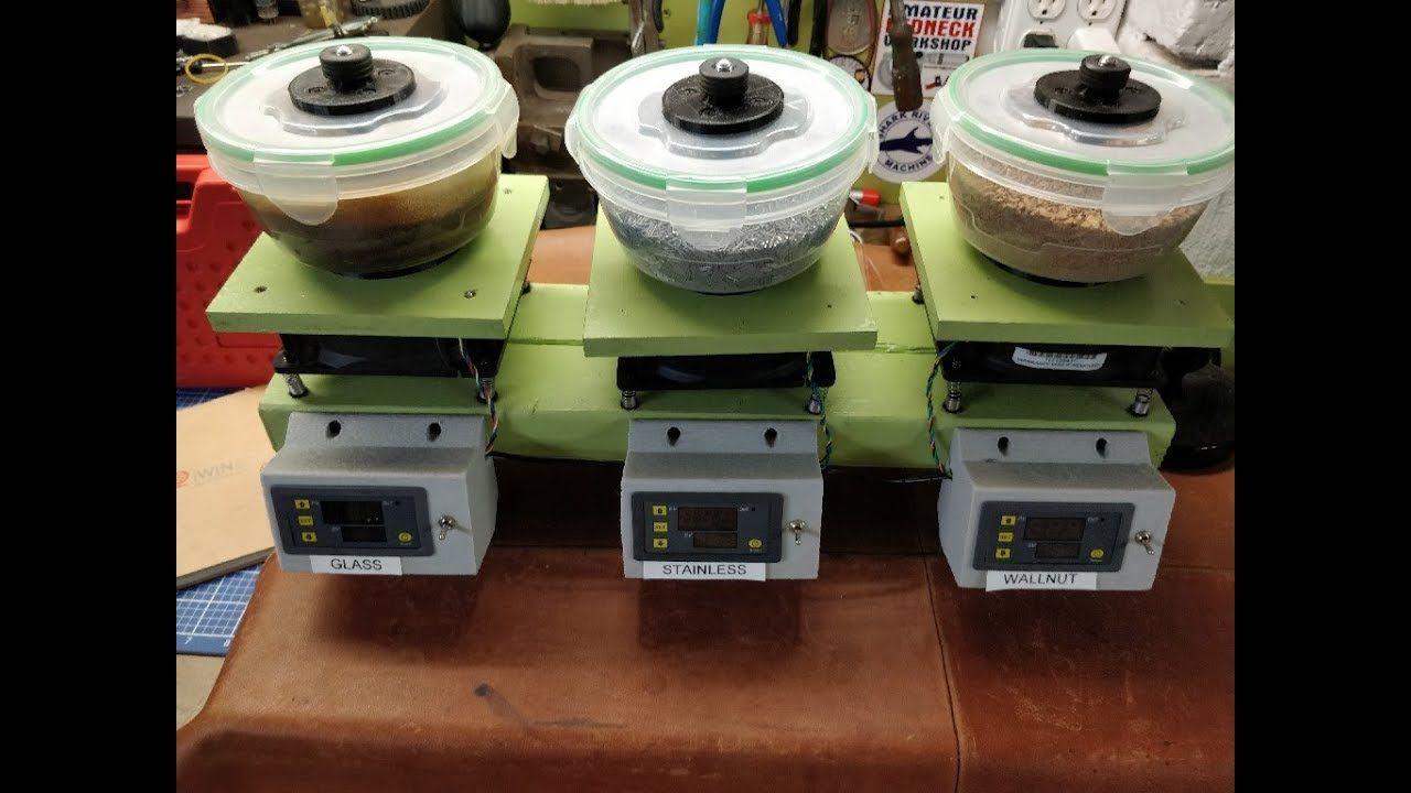 Diy vibratory tumbler 2or3 shop projects vibratory