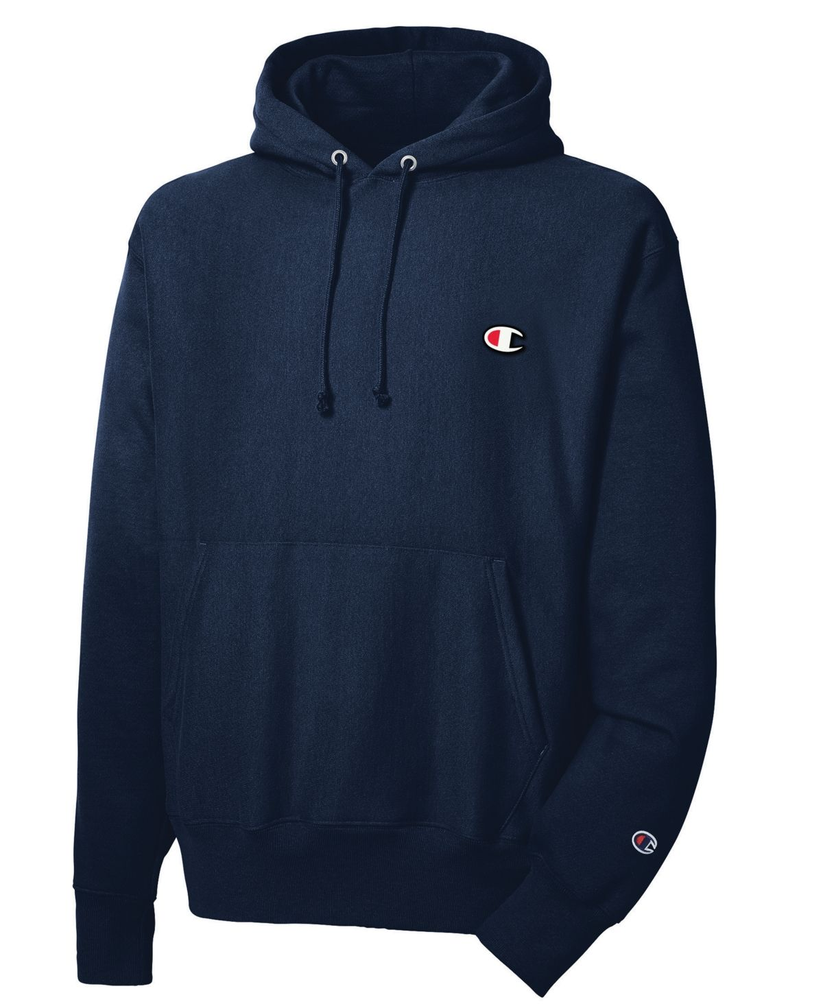 Champion Men S Reverse Weave Hoodie Navy Mens Sweatshirts Hoodies Sweatshirts [ 1467 x 1200 Pixel ]