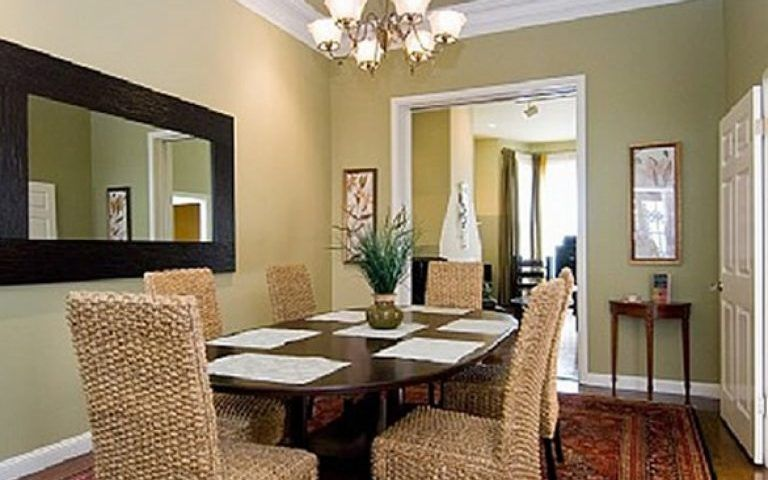 صور غرف سفرة كلاسيك سيدات مصر Cottage Style Dining Room Farmhouse Dining Room Small Dining Room Decor