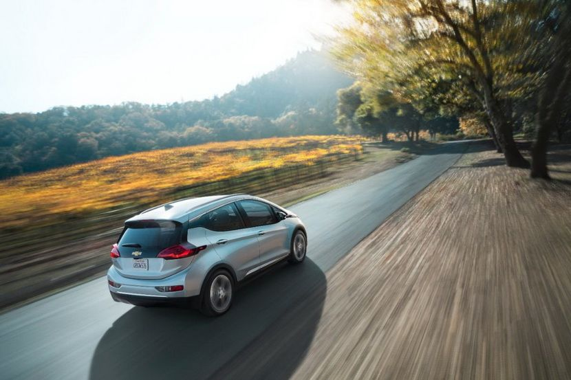 The first Chevrolet Bolt for carpooling Chevy bolt