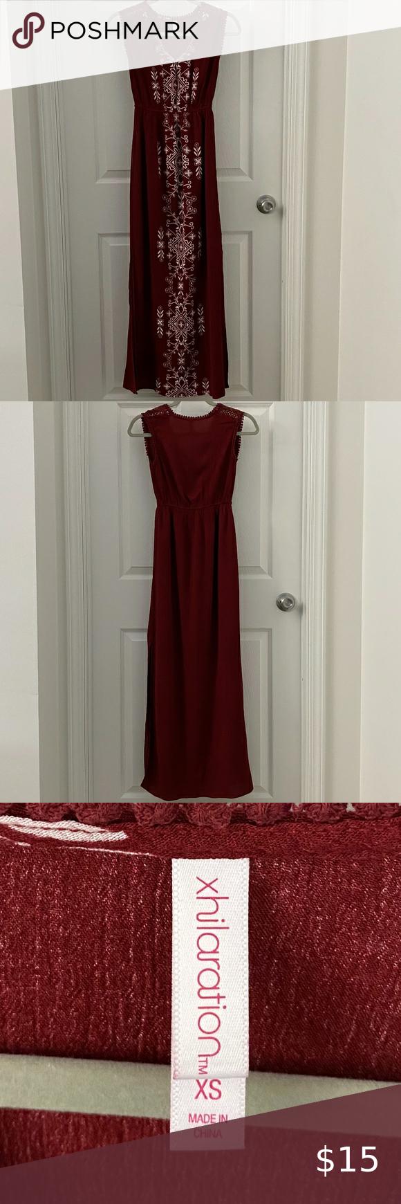 Xhilaration Maxi Dress Size Xs In 2020 Dresses Maxi Dress Xhilaration [ 1740 x 580 Pixel ]