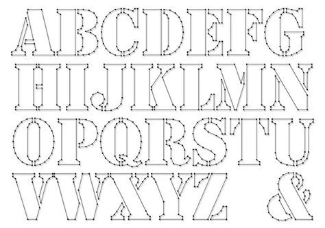 3d Alphabet 3d Alphabet Alphabet Basteln Karton Buchstaben