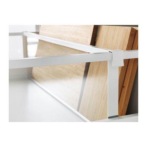 maximera s parateur pour tiroir haut blanc transparent astuces cuisines pinterest tiroir. Black Bedroom Furniture Sets. Home Design Ideas