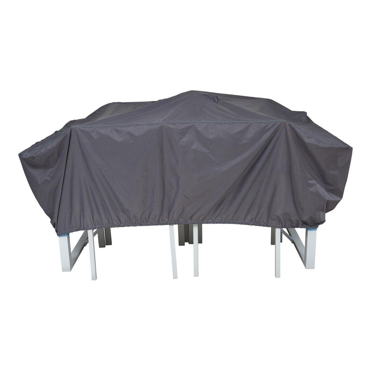 Housse De Protection Table De Jardin 180 X 110 Cm Cov Up Table