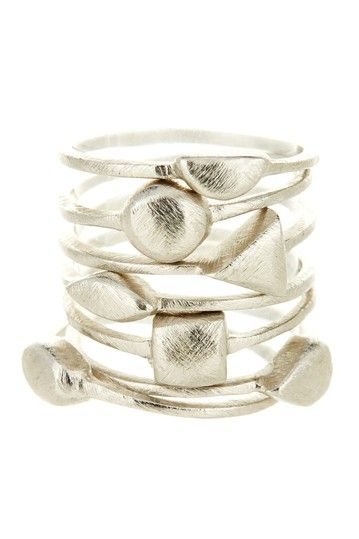 Multi-Shape Ring Stack