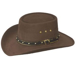 Chapeau gambler brown