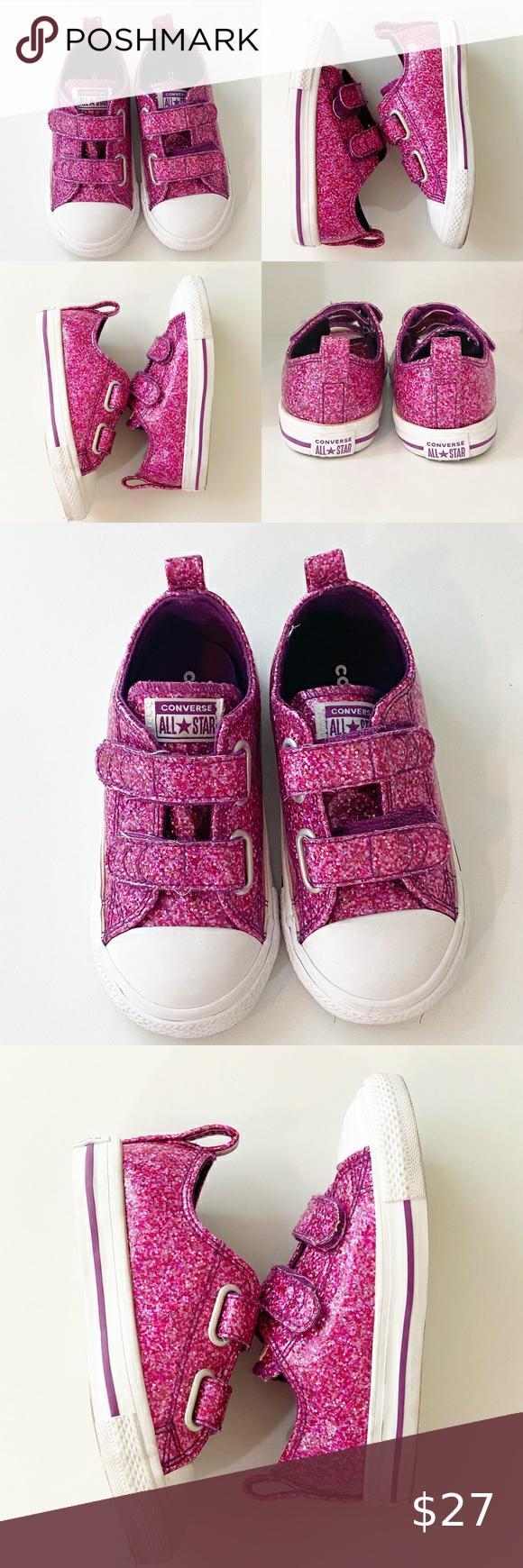 Converse All Star Pink Glitter