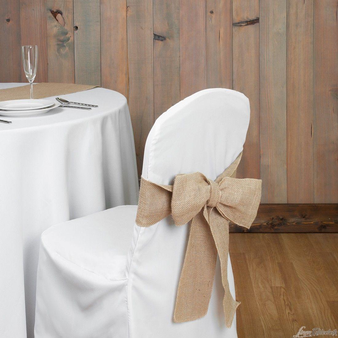 Table Linens Linen Tablecloth Shopping Linentablecloth Burlap Chair Sashes Burlap Chair Chair Covers Wedding