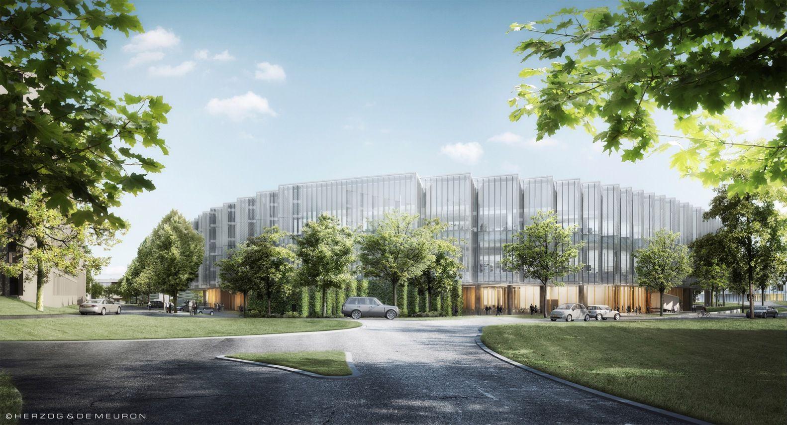 Gallery Of Herzog De Meuron S Astrazeneca R D Headquarters Tops Out In Cambridge 4 Architecture Visualization City Of Cambridge Cambridge