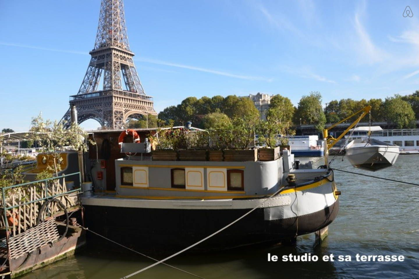 Airbnb Peniche Paris Airbnb Studio Péniche Face Tour Eiffel Dreaming Of Paris