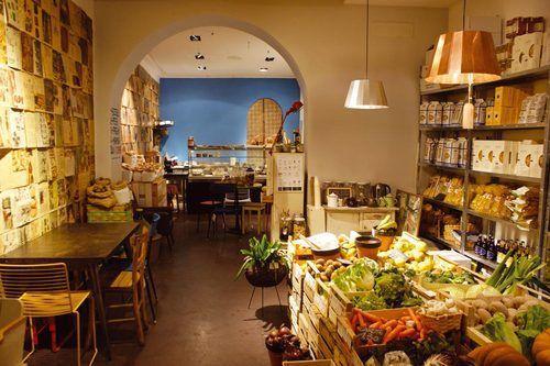 Concept Food, Via Panisperna 225, Roma Mia Market è il nuovo food - cafe design entspannter atmosphare