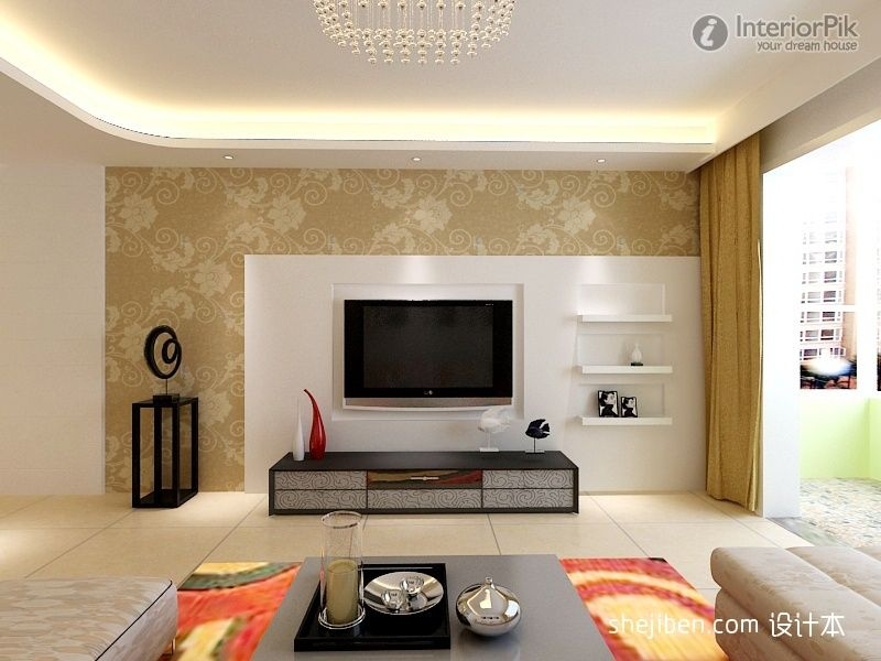 Pin By Farzaneh Ezzatkhah On Beda Tv Room Design Living Room Wall Units Modern Tv Units