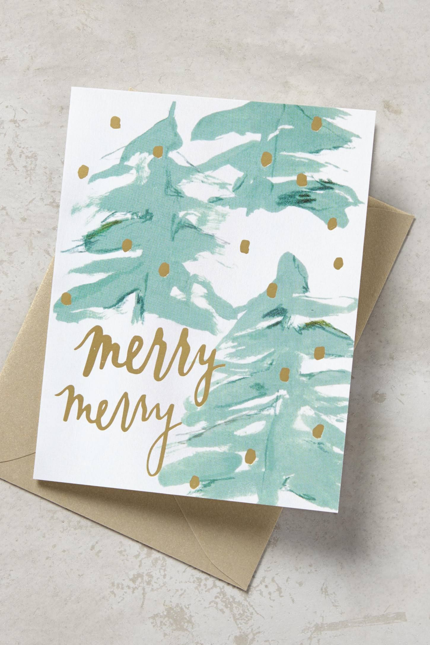 Anthropologie\'s Christmas Arrivals: Cards & Gift Wrap | Inspiration ...