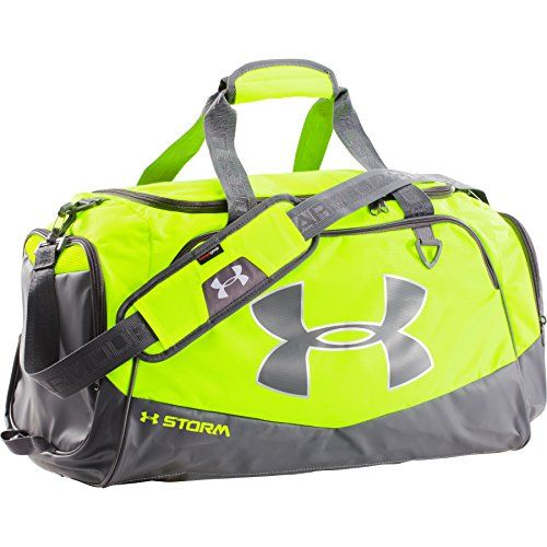 green under armour duffle bag