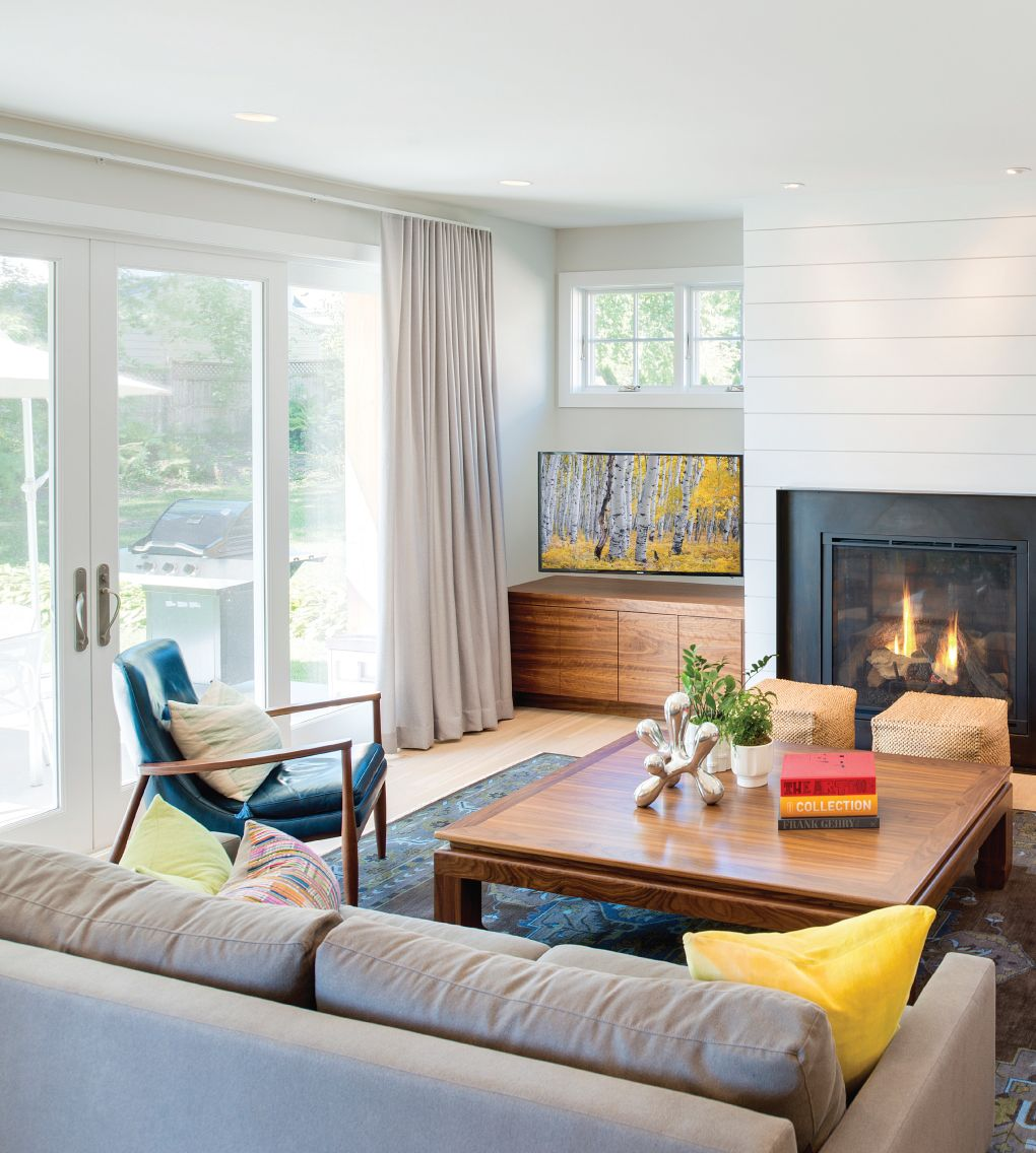 My Light And Airy Living Room Transformation: Tour An Edina Home Refreshed With Color, Shape, And Style