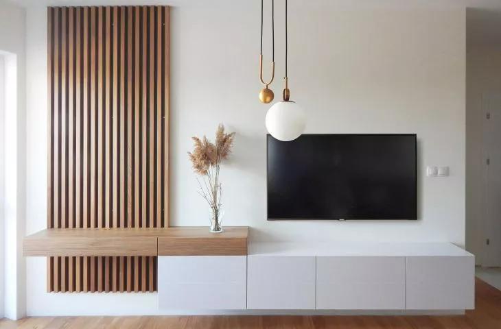 Mieszkanie w stylu mid-century modern. Projekt od AMJ studio