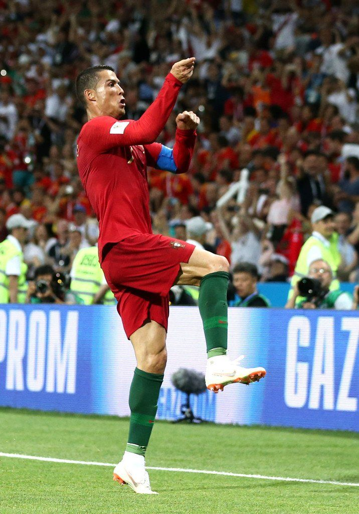 Cristiano 51sthattrick Legend Portugal Vs Spain Fifa World Cup 2018 Cristiano Ronaldo Futebol Ronaldo